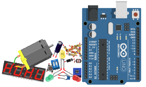 Placa arduino STP Training Vialdecans